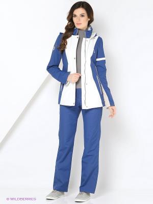 Спортивный костюм KARINA Maritta. Цвет: темно-синий, темно-фиолетовый