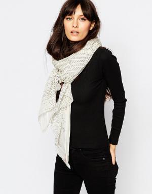 Becksondergaard Oversize-шарф Afia. Цвет: черный