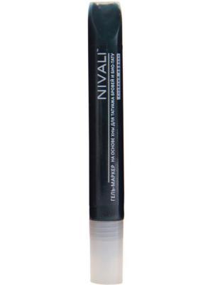 Гель-маркер с хной Nivali. Цвет: зеленый