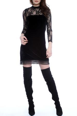 Платье Emma Monti. Цвет: черный