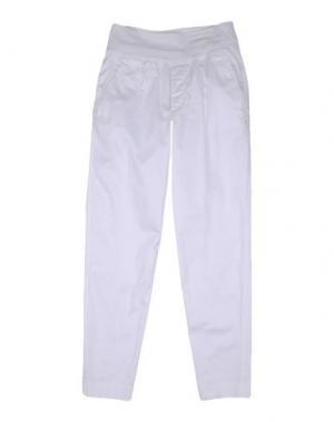 Повседневные брюки EUROPEAN CULTURE. Цвет: белый
