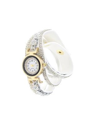 Браслет-часы Olere. Цвет: золотистый, белый, серебристый