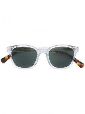 Солнцезащитные очки Ostra 1950s Epøkhe. Цвет: телесный