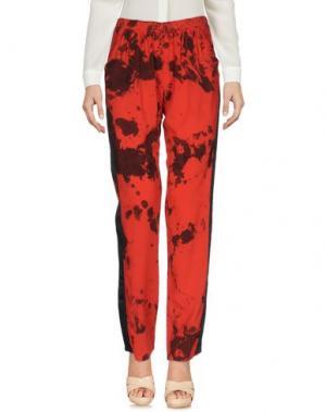 Повседневные брюки MONICA •LENDINEZ. Цвет: красный