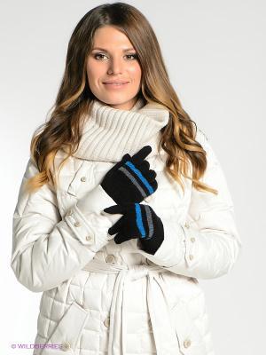 Перчатки Milana Style. Цвет: черный, синий, серый