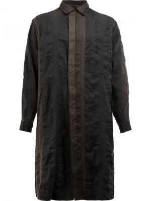 Пальто на пуговицах Uma Wang. Цвет: синий