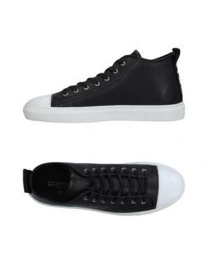 Высокие кеды и кроссовки YAB. Цвет: черный