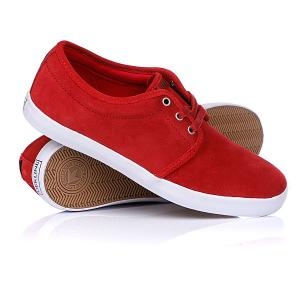 Кеды кроссовки низкие  River Red/White Dekline. Цвет: красный