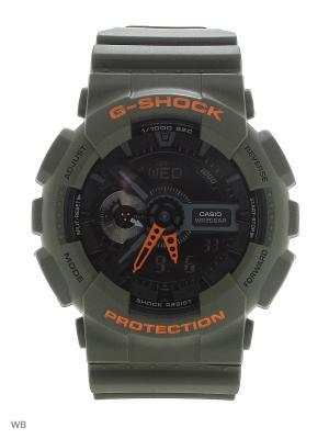 Часы G-Shock GA-110LN-3A CASIO. Цвет: хаки