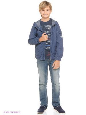 Куртка GARCIA. Цвет: синий