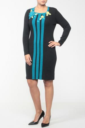 Платье Stillon. Цвет: серый