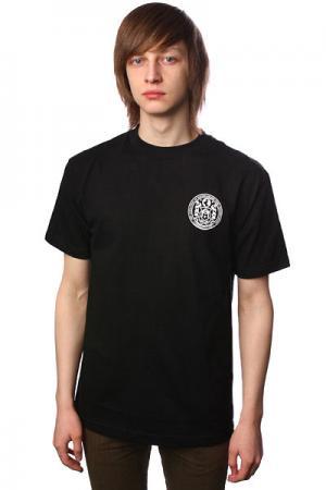 Футболка Sk8Mafia Seal. Цвет: черный