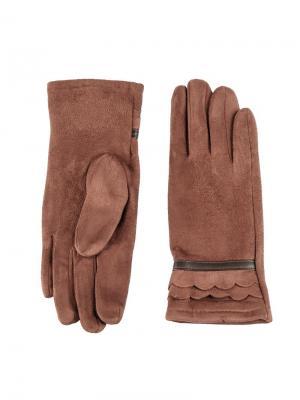 Перчатки Sabellino. Цвет: коричневый