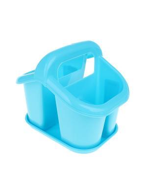 Сушилка для столовых приборов Migura. Цвет: голубой
