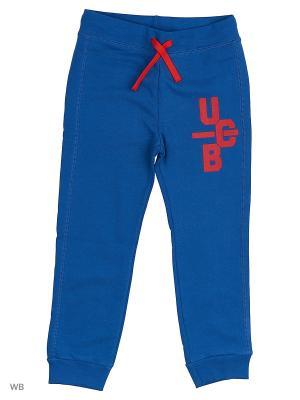 Брюки United Colors of Benetton. Цвет: синий, красный