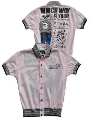 Рубашка MARIONS. Цвет: розовый