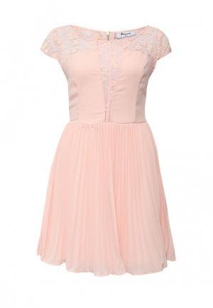 Платье Paccio. Цвет: розовый