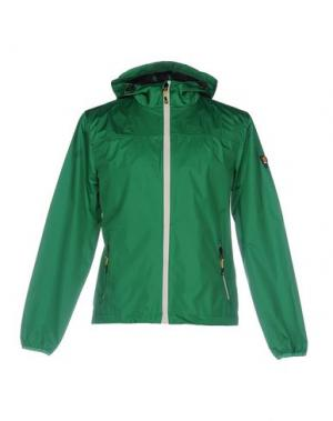 Куртка CIESSE PIUMINI. Цвет: зеленый