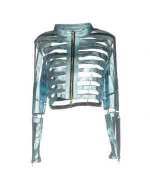 Пиджак CABAN ROMANTIC. Цвет: бирюзовый