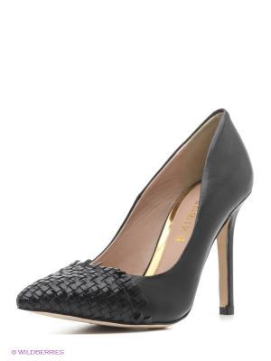 Туфли CAFeNOIR. Цвет: черный