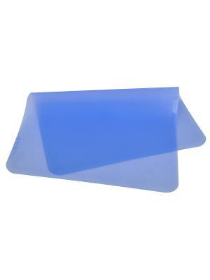 Коврик силиконовый Regent inox. Цвет: голубой