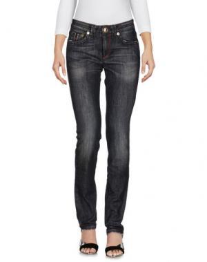 Джинсовые брюки BARBA Napoli. Цвет: черный
