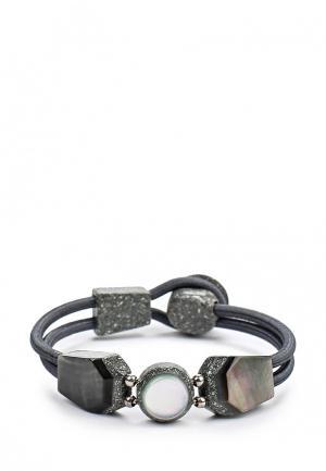 Браслет Nature bijoux. Цвет: серый