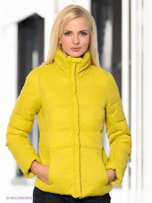 Куртка Broadway. Цвет: желтый