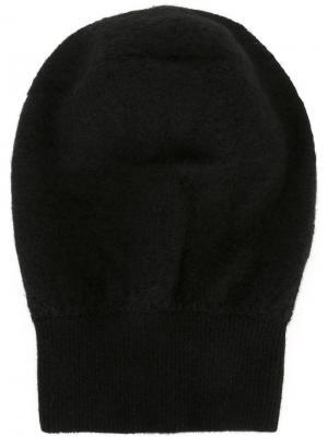 Классическая шапка Unravel Project. Цвет: чёрный