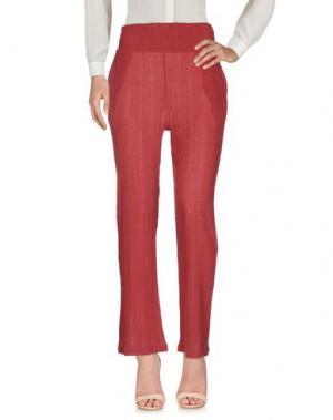 Повседневные брюки DIEGA. Цвет: кирпично-красный