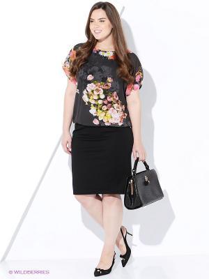 Платье AVELON. Цвет: черный