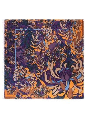 Платок Eleganzza. Цвет: светло-коричневый, оранжевый, фиолетовый