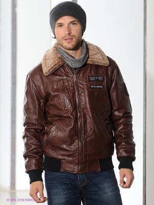 Куртка TOM FARR. Цвет: коричневый