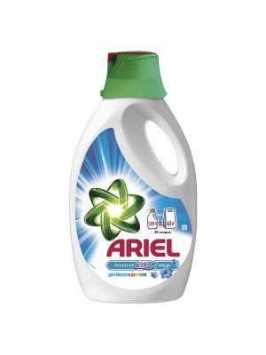 Жидкий стиральный порошок Touch of Lenor fresh 1.95л Ariel. Цвет: белый, зеленый