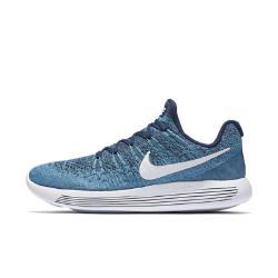 Мужские беговые кроссовки  LunarEpic Low Flyknit 2 Nike. Цвет: синий