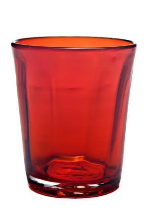 Бокал для воды Zafferano. Цвет: красный