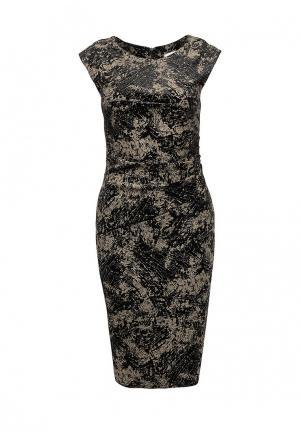 Платье Chattawak. Цвет: коричневый