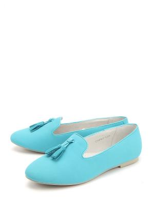 Туфли Антилопа. Цвет: голубой