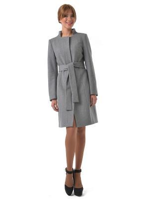Пальто SUCCESS. Цвет: серый