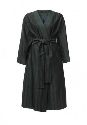 Пальто Aleksandra Vanushina. Цвет: зеленый