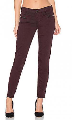 Узкие мото джинсы с молниями внизу штанин BLANKNYC. Цвет: none
