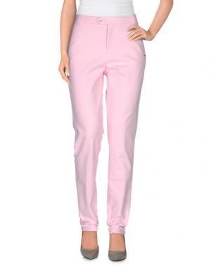 Повседневные брюки XANDRES. Цвет: розовый