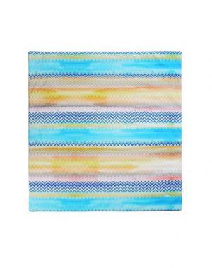 Одеяло MISSONI. Цвет: лазурный