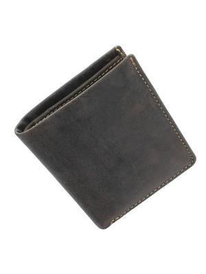 Бумажник Saber Visconti. Цвет: коричневый