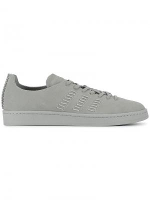 Кеды Campus Adidas X Wings + Horns. Цвет: серый