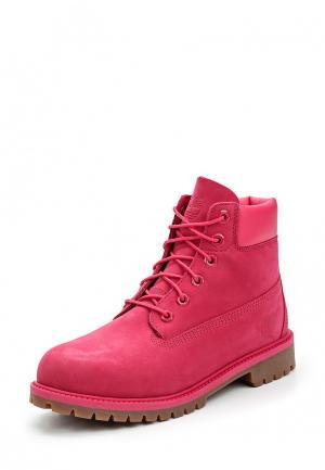 Ботинки Timberland. Цвет: розовый