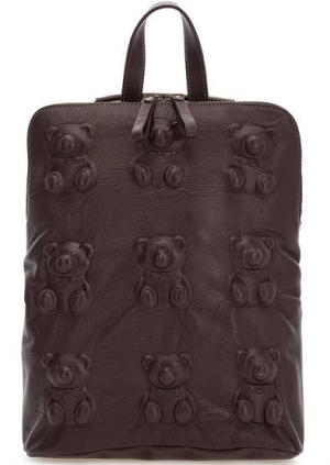 Сумка-рюкзак с одним отделом на молнии Io Pelle. Цвет: фиолетовый