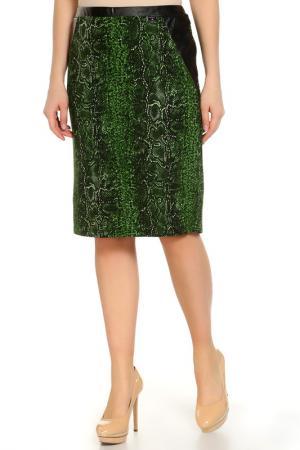 Юбка Paola Joy. Цвет: зеленый