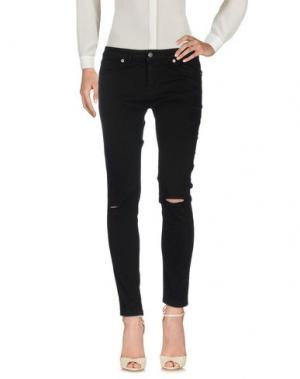 Повседневные брюки KONTATTO. Цвет: черный