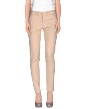 Повседневные брюки CRISTINAEFFE COLLECTION. Цвет: телесный